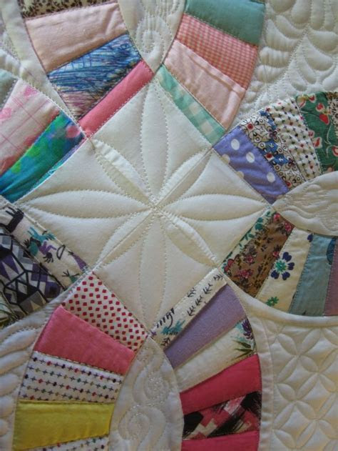 17 Best images about Double wedding ring quilting ideas on