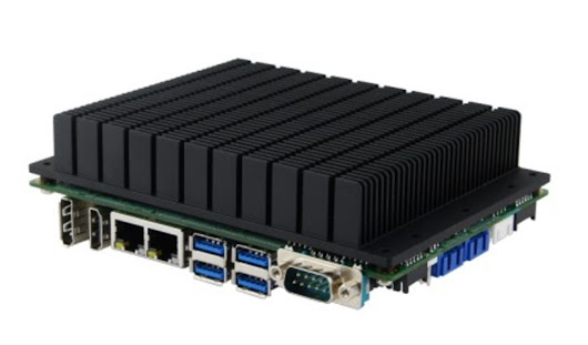 Disc-Size Single-Board Computer (SBC) Powered By 7th Gen Intel Core U-Series Processors