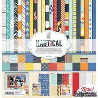 Набор двусторонней скрапбумаги и декора Fancy Pants - Nautical Collection Kit, 30х30 см - ScrapUA.com