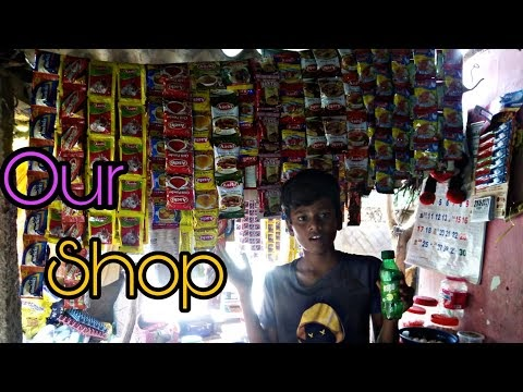 Our kutty shop tour ||😋