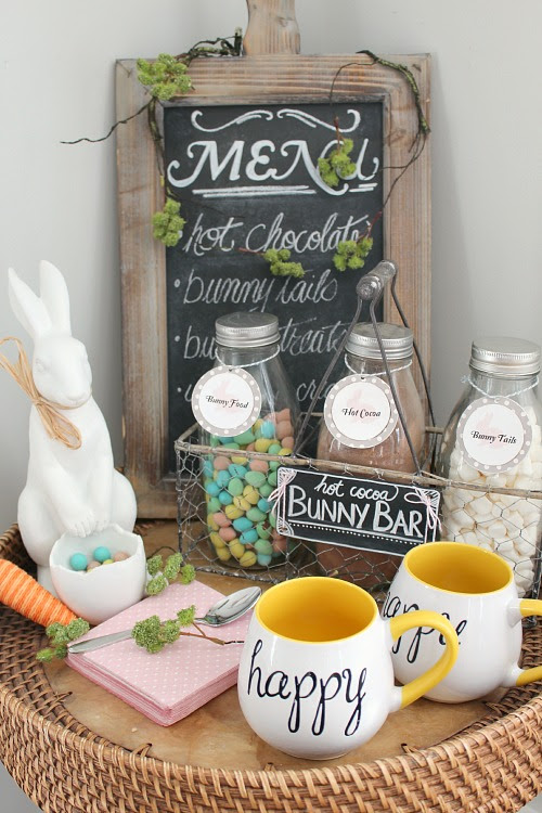 Easter Hot Cocoa Bar - Clean and Scentsible