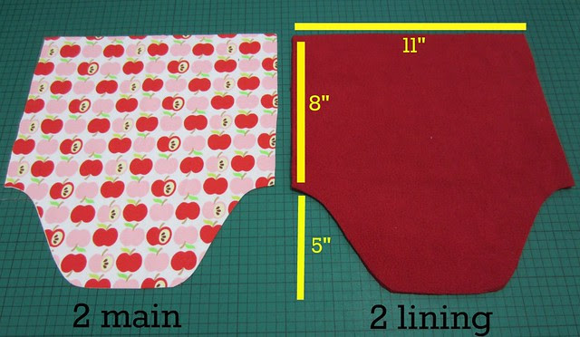 1 cut fabric