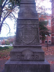 Gov. Sevier monument