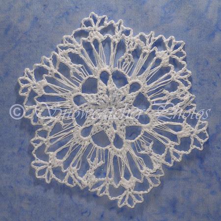 Lavender Snowflake