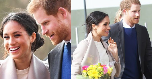 Meghan Markle wears Irish flag colours during royal visit with Prince Harry | OK! Magazine