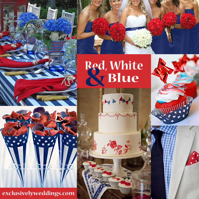 Red Blue Wedding Colors Veenvendelbosch