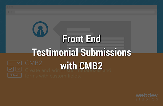 Front end submission of Testimonials by WooThemes plugin - The Stiz Media