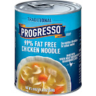 Progresso Traditional Soup, 99% Fat Free, Chicken Noodle - 19 oz can