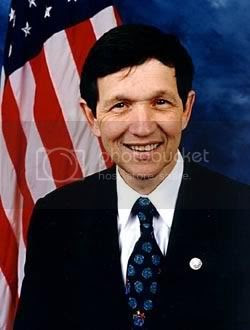 Presidential Candidate Dennis Kucinich was the target of a mob hitman plot.