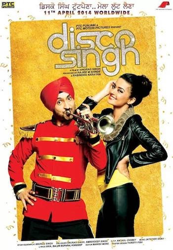 Disco Singh 2014 Hindi Dubbed 720p HDRip 1GB