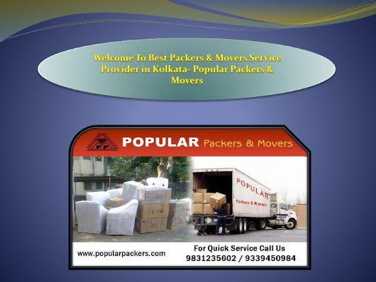 Welcome To Best Packers & Movers Service Provider in Kolkata- Popular…