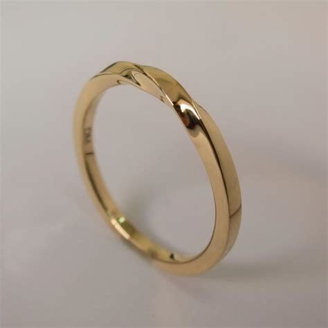 Mobius Ring   14k Gold Ring , Wedding Ring , Gold Wedding