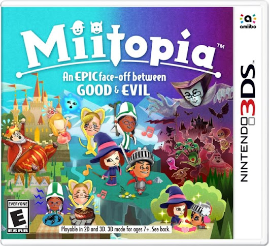 Miitopia heading to 3DS later this year