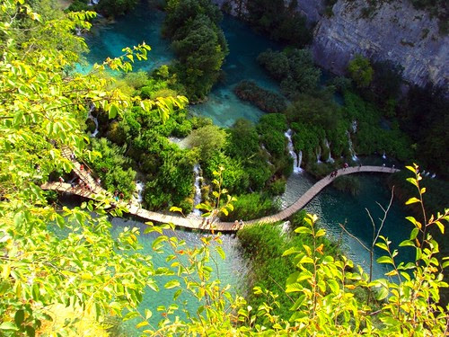 Plitvice Lakes, National Park, UNESCO, Croatia