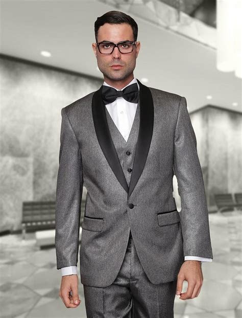 2015 New Arrival Grey Wedding Tuxedos Mens Suits Cheap