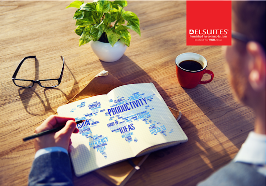 How to Be More Productive on a Business Trip - Delsuites' Blog