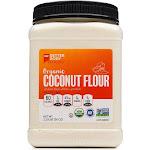 Better Body Foods Organic Coconut Flour - 2.25 lb jar