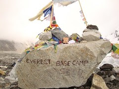 Mr Toast Visits Everest Base Camp