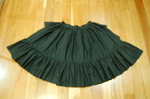 Lolita Closet Count! Skirts: Black - In the Starlight Black Underskirt