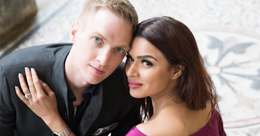 Aashka Goradia And Brent Goble's Wedding Card Is Here, And It's Beautiful