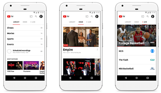 YouTube TV is official, includes 40+ networks for $35/month