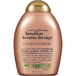 Organix Ever Straight Brazilian Keratin Therapy Conditioner - 13 fl oz bottle