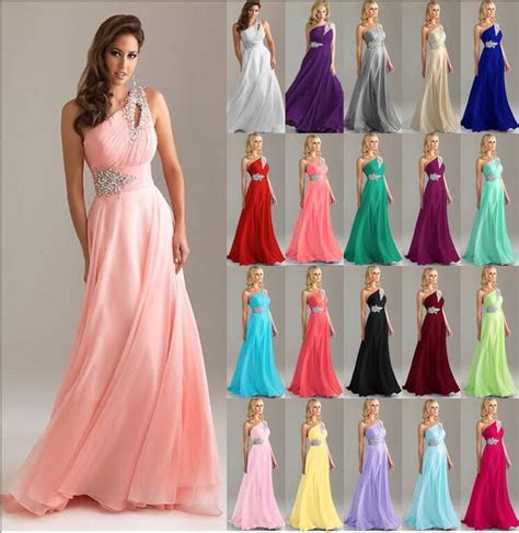 formal long evening gown party prom bridesmaid dress