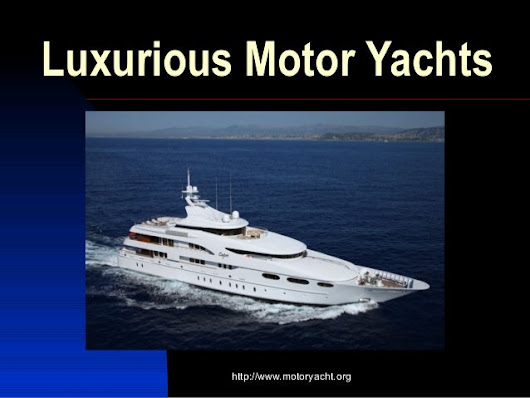 Motor Yachts and Catamaran Sailboats for Luxurious Charter Vacations.
