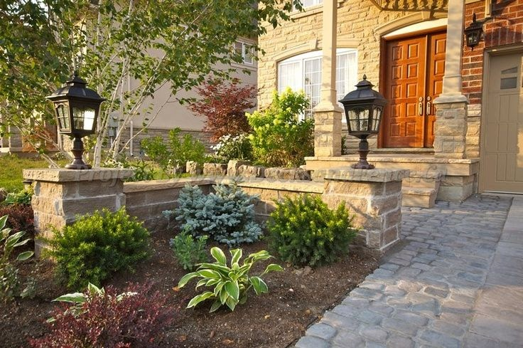 Landscaping Ideas For Front Yard Of Semi Detached : Landscaping front garden ideas toronto