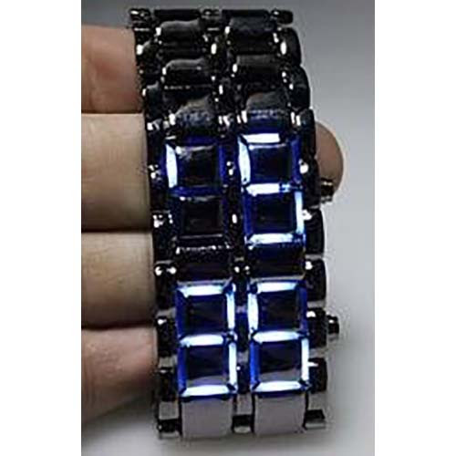 Lava Style LED Faceless Wrist Watch | Cool Gadgets and Gizmos for You to Review