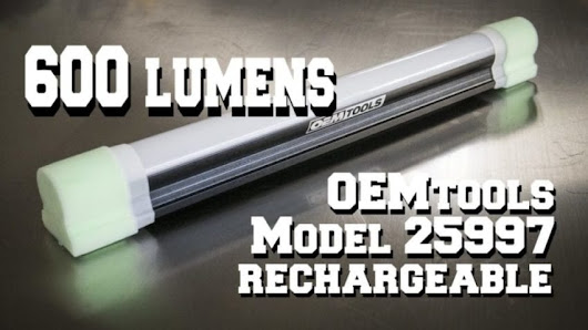 OEMTools Cordless LED Work Light Video Review | STR