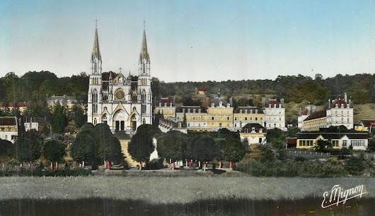 Travelling salesman for the souls in purgatory – from Montligeon – Normandy Then and Now