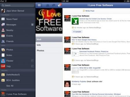 aplikasi facebook resmi ipad