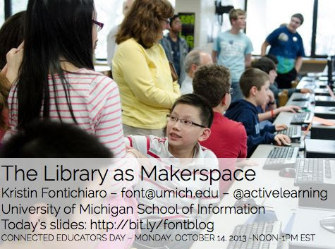 Information Services Today: Hyperlinked Libraries, Makerspaces, & Learning in a Collaborative World