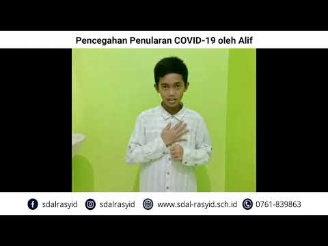 Pencegahan Penularan COVID-19 oleh Alif