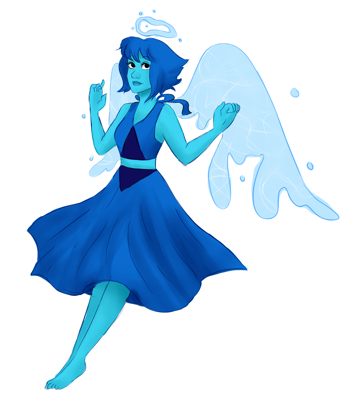 Sketching - I'm ready for the new episode ♥ Water angel