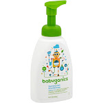 BabyGanics Foaming Bottle & Dish Soap, Fragrance Free - 16 oz pump bottle