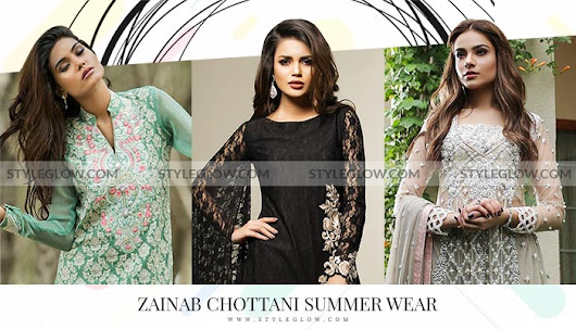 Best of Zainab Chottani Summer Collection 2018 for Girls - StyleGlow.com