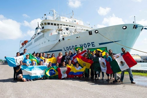 Logos Hope, the largest floating bookstore in the world, will visit Puntarenas from October 26th to ...