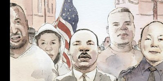 The New Yorker Unveils Striking MLK Cover