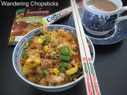 Bamboe Nasi Goreng and Aik Cheong CoffeeTea