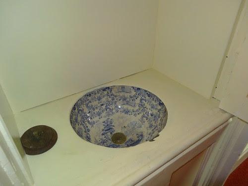 Porcelain Sink at Wray Castle