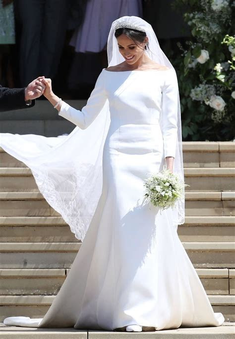 Meghan Markle's second wedding dress by Stella McCartney