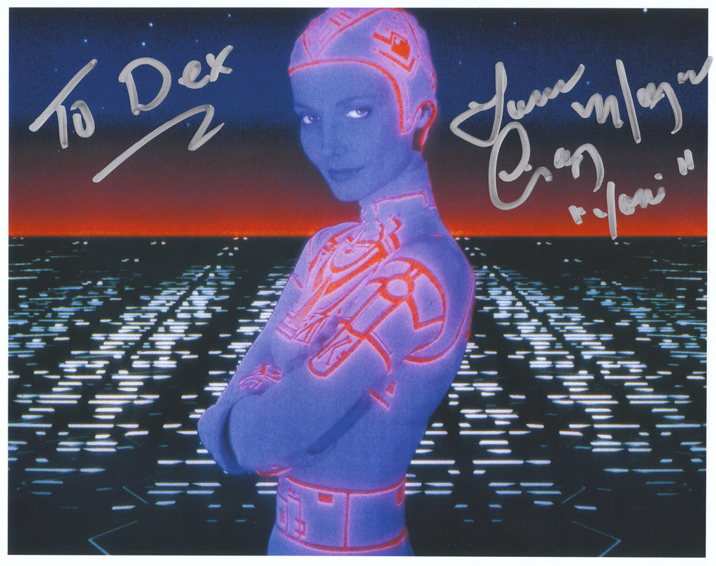 Cindy Morgan Yori autograph