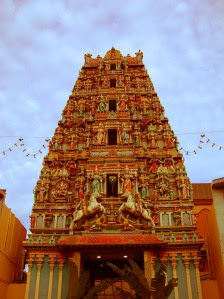 the Sri Mahamariamman Temple