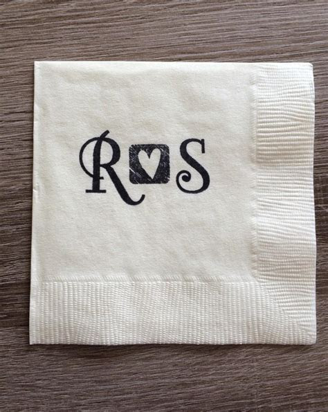 Others: Exciting Wedding Cocktail Napkins Ideas