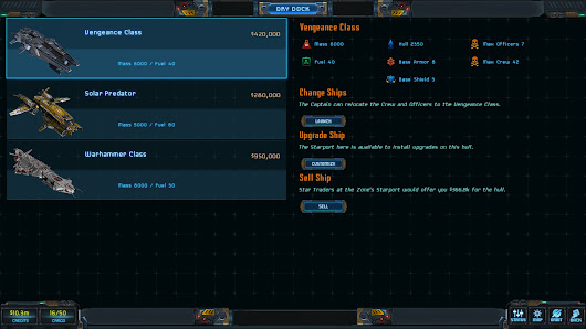 Star Traders: Frontiers Update #14: Unchain the Ships of War