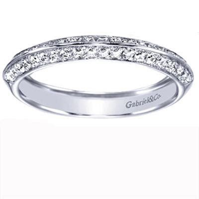 Diamond Knife Edge Wedding Band ? Brooks Diamonds