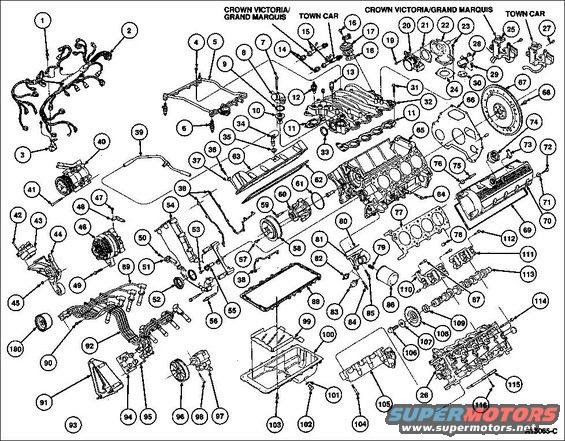 1996 Ford Crown Victoria Vacuum Diagram 4 6l Engine