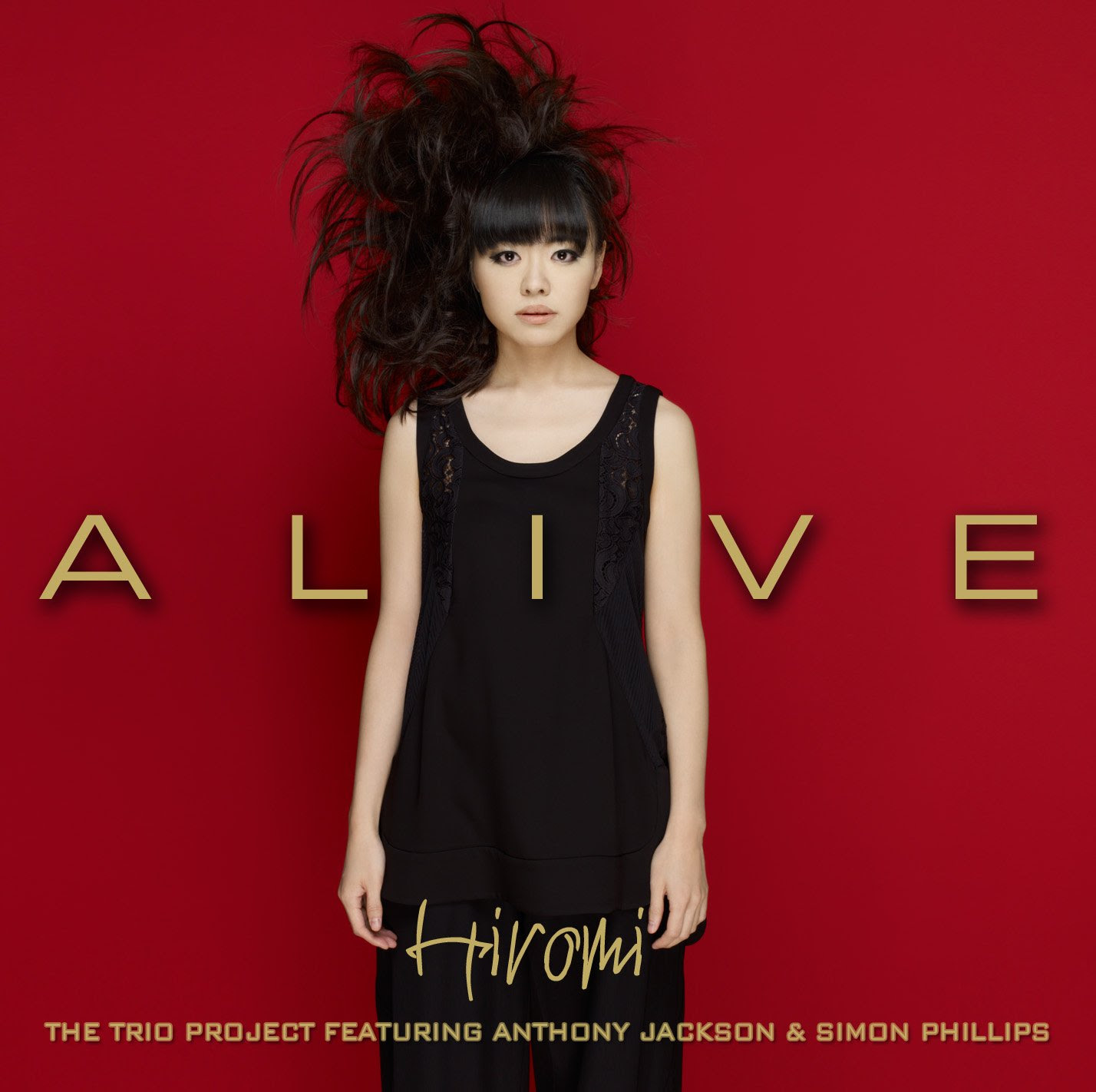 Hiromi - Alive   cover